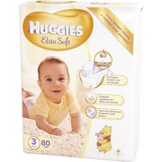 HUGGIES Elite Soft 5-9 кг (80) фото
